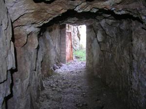 """Una de les galeries del complex miner """"Gato"""""""